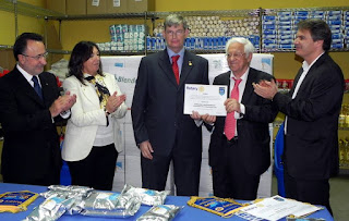 Ceremonia del Rotary e-club