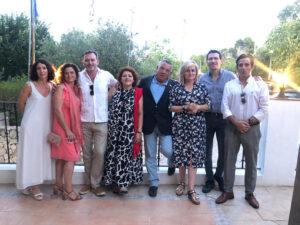 Ceremonia de cambio de collares Rotary e-Club Mediterráneo