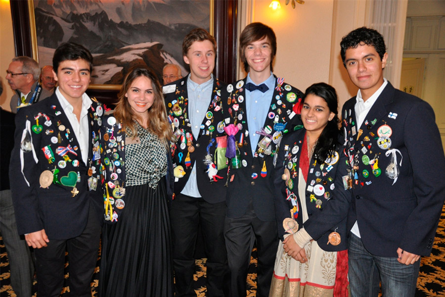 Programas de intercambio para jóvenes en Rotary