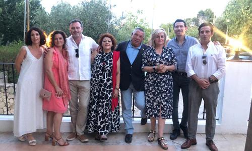 Miembros del Rotary e-club del Mediterráneo